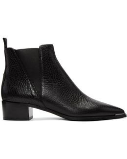 Black 'jensen' Suede Boot
