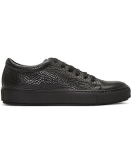 Adrian Grained Leather Sneakers
