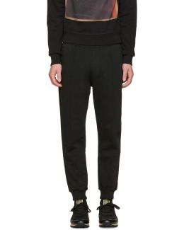 Black High Casual Lounge Pants