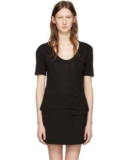 Black Jersey Pocket T-shirt