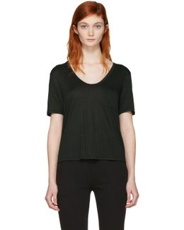 Green Cropped T-shirt