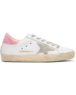 Ssense Exclusive White Superstar Sneakers