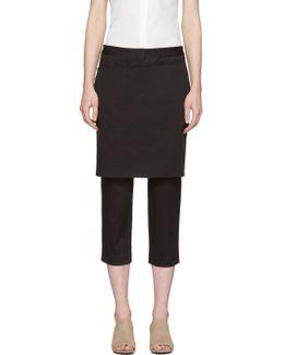 Black Apron Trousers