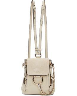 Off-white Mini Faye Backpack