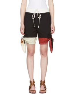 Multicolor Bow Shorts