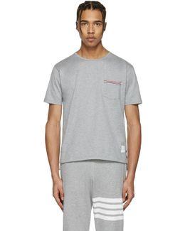 Grey Pocket T-shirt