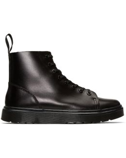 Black Talib High-top Sneakers