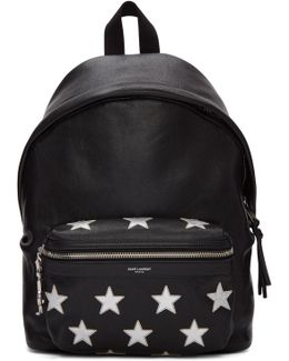 Black Mini City Backpack