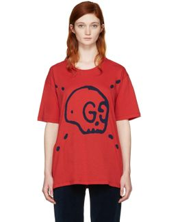 Red Ghost T-shirt