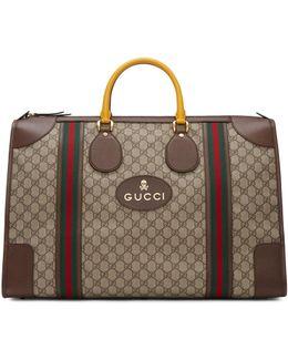 Beige Neo Vintage Duffle Bag