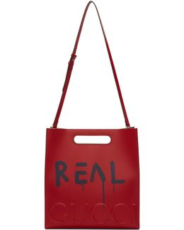 Red 'real' Ghost Tote