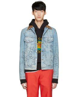 Blue Denim Writing Jacket