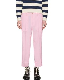 Pink Short Loose Trousers