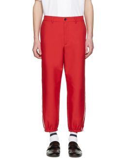 Red Vintage Trousers