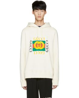 Off-white Felted Hoodie