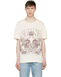 Ivory 'loved' Logo T-shirt