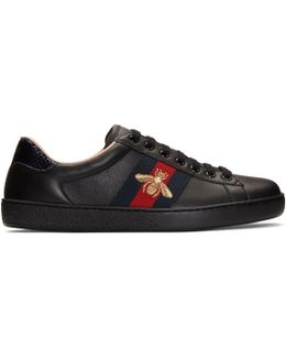 Black New Ace Bee Sneakers
