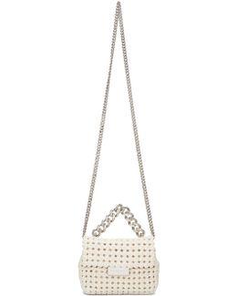 Ivory Mini Becks Weaved Bag