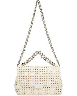 Ivory Becks Weaved Bag