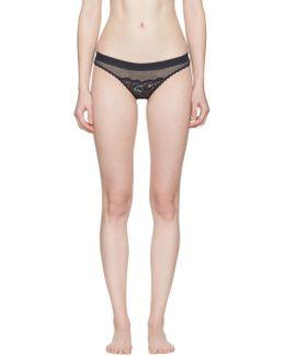 Navy Sophie Surprising Bikini Briefs