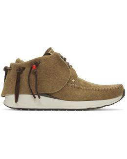 Brown Fbt Moccasin Sneakers