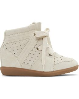 Off-white Bobby Wedge Sneakers