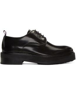 Black Leather Kingston Derbys