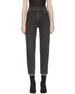 Black Levi's Edition Classic High Waist Jeans