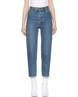 Blue Levi's Edition Classic High Waist Jeans