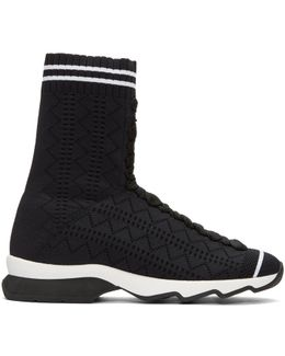 Black Sock High-top Sneakers