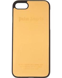 Gold Logo Iphone 7 Case