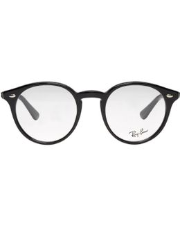 Black Round Optical Glasses