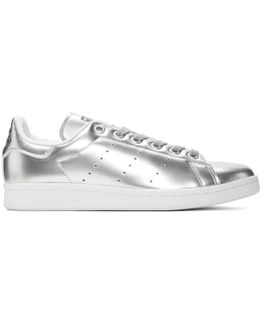 Silver Stan Smith Sneakers