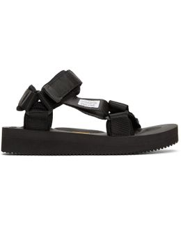 Black Depa-v Sandals
