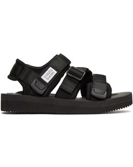 Black Kisee Sandals