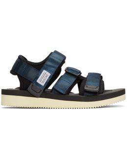 Navy Kisee Sandals