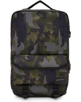 Green Camo F-close Backpack