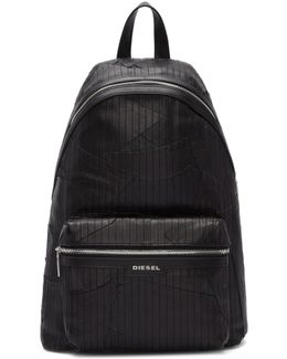 Black L-grungy Backpack