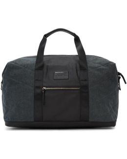 Black & Indigo D-v-denim Duffle Bag