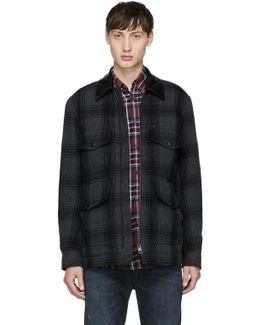 Grey Plaid W-glacier Jacket