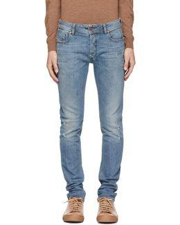 Blue Sleenker Jeans