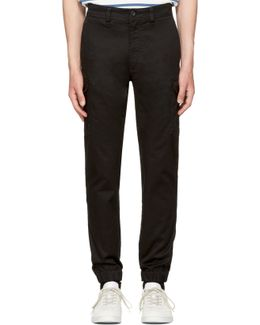 Black Chi-united Trousers