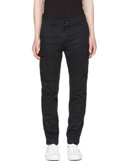 Black Chi-united Cargo Pants