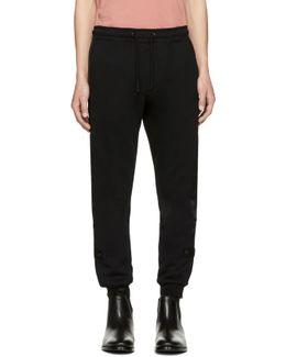 Black P-scram Lounge Pants