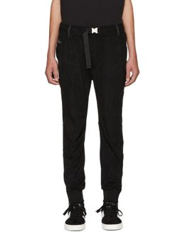 Black X Collection Repectures Lounge Pants