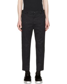 Black P-mad Trousers
