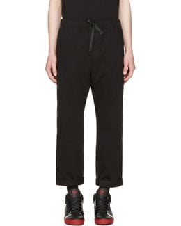 Black P-idaho Trousers