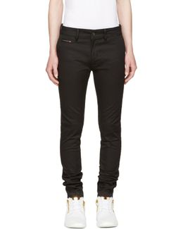 Black Chi-shaped Trousers