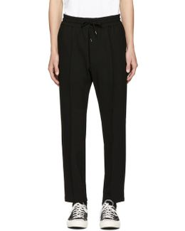 Black P-pointis Trousers
