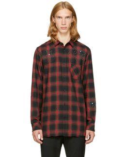 Red & Black Plaid S-prof Shirt